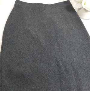 NWT J. Crew Wool Blend Size 0 Pencil Skirt Gray
